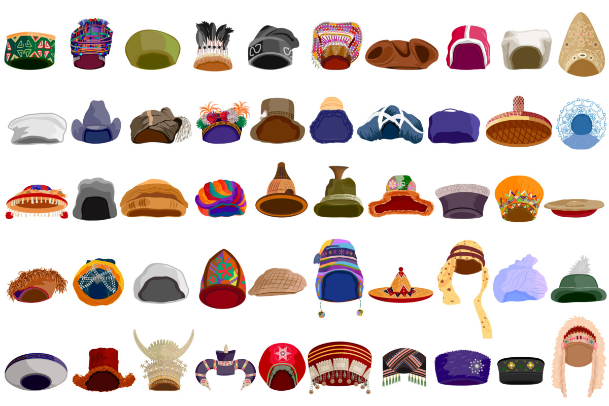 Around the world in… hats  98914f14001